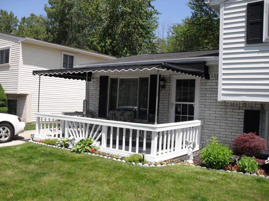 Custom Awning Installation Michigan