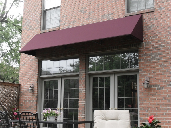 Stationary Awnings Macomb County MI - Installation & Service - ROBA - backyard-awning