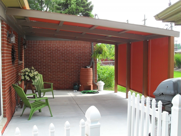 Stationary Awnings Macomb County MI - Installation & Service - ROBA - custom-awning