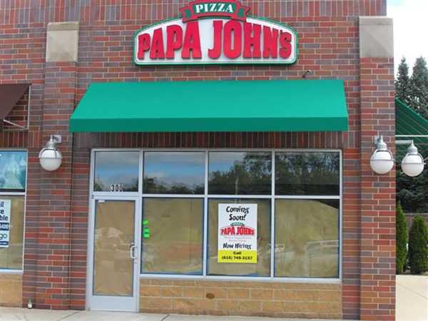 Awning Repairs Madison Heights MI - ROBA - papa-johns-awning