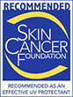 Skin Cancer Foundation Recommended UV Protectant logo